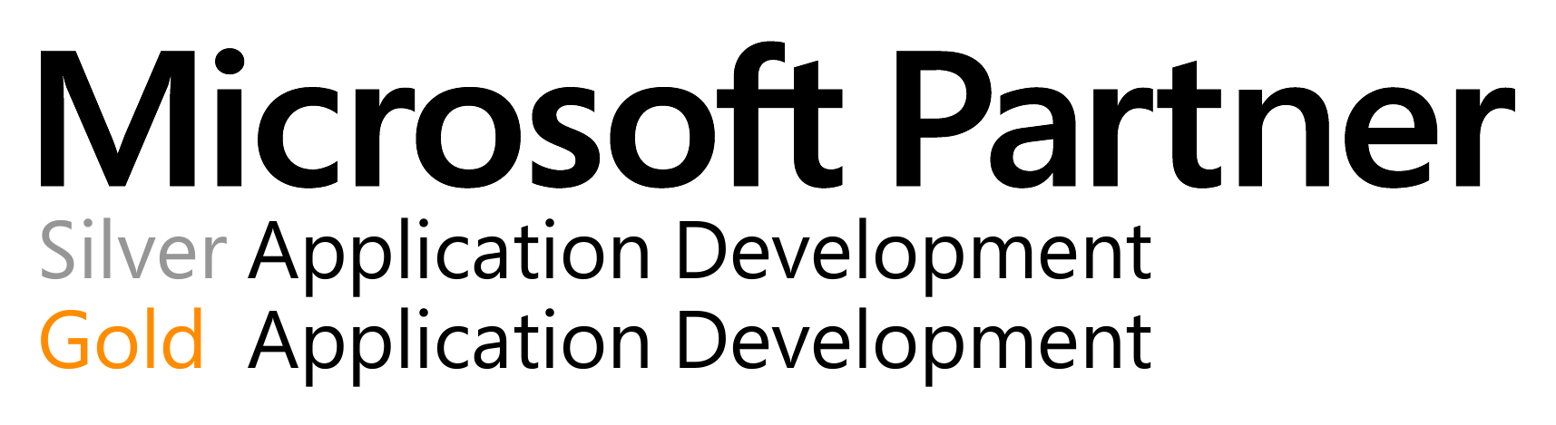 Microsoft Silver/Gold Application Development