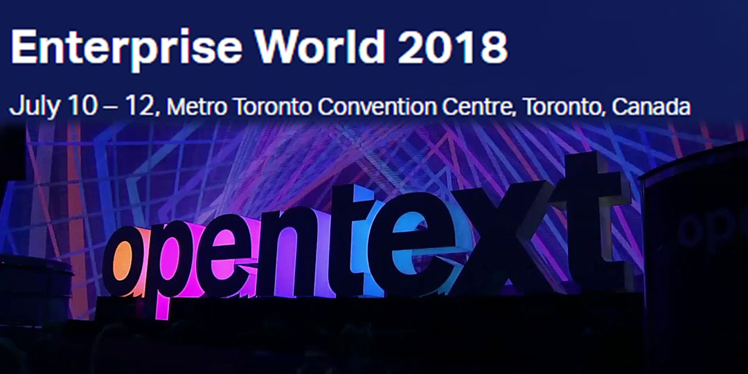 OpenText Enterprise World 2017
